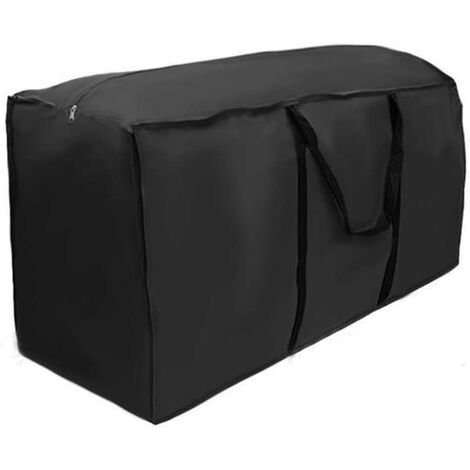 Extremely Large Outdoor Furniture Cushion Storage Bag Sheets Pillows Cushions Handbag with Handle 210D Oxford Waterproof (173x76x51cm) SOEKAVIA