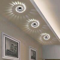 Spiral Wall Light Wall Light 3W Modern LED Wall Light for Bedroom, Hallway, Corridor, Bar, Cafe, Living Room (White Light) [Energy Class A +]