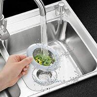 2 Drain Strainer Set, 7cm Stainless Steel Kitchen Sink Shower Tub, Different Sizes Are For 3.6cm-11cm Universal Strainer Shower Drain