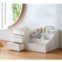 Desktop Cosmetic Storage Box with Drawers, Makeup Organizer Drawers