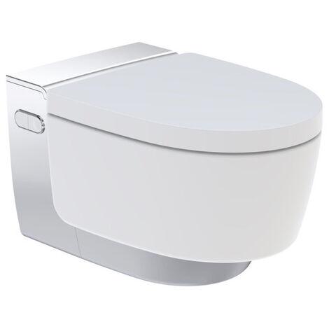 WC suspendu lavant AquaClean MAÏRA Blanc/Chromé - Geberit 146.218.21.1