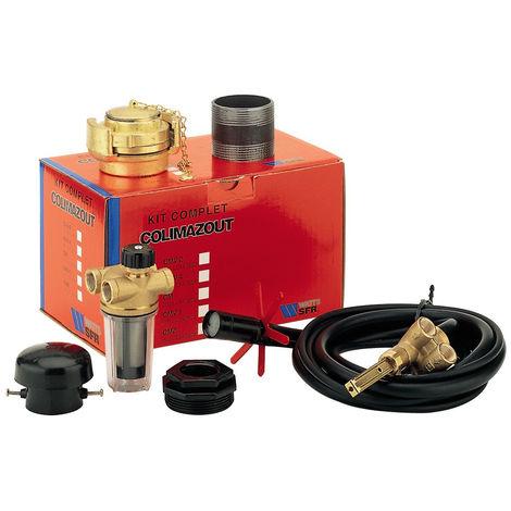 Kit COLIMAZOUT cuve fioul CMV2 avec filtre bitube RV2 - Watts 22L0146302