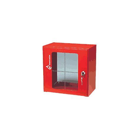 Coffret sous verre dormant pour vanne barrage gaz ou sécurité - 600x600x450 - Thermador