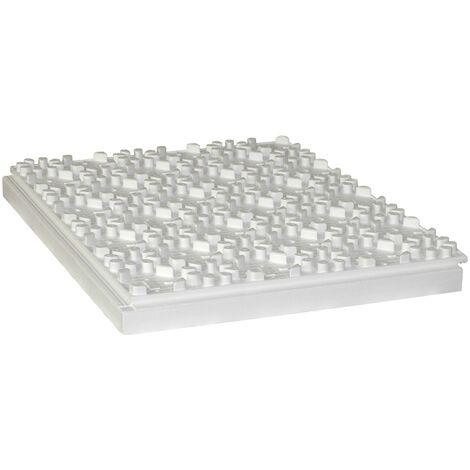 Dalle à plots polystyrène R 2,10 Ep.71mm - Lot de 6 plaques (5,64m²)