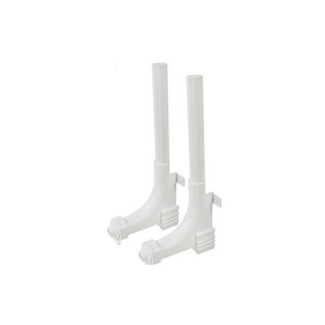 Accessoires de pose plancher chauffant T/é porte thermom/ètre chrome sortie collecteur PCBT M/âle-Femelle 3//4EK Somatherm