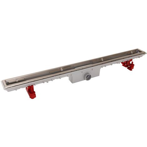 Caniveau de douche sans grille Docia Nicoll - 50x890mm