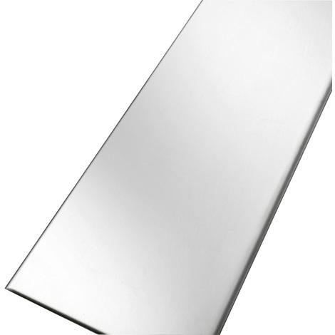 Grille inox 304 réversible pour caniveau KSICAN80