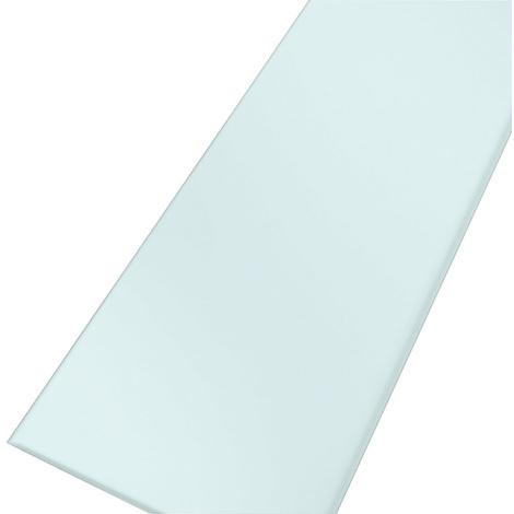 Grille crystal blanc pour caniveau KSICAN80
