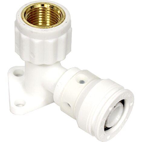 """Push-fit Vision coude femelle applique 20x2,0 - 1/2"""" (15/21)"""