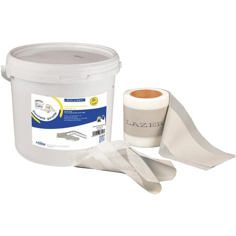 Système d'étanchéité liquide (SEL) pot de 5 kg + bande et angle
