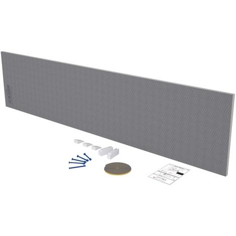 Tablier de baignoire (retour) à carreler 30mm - 760x600mm - Lazer 330401