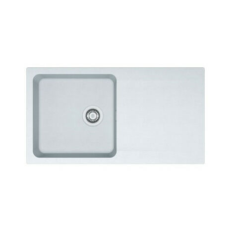 Evier ORION OID611-94 Blanc Artic (sous meuble 60cm) 940x510x190mm