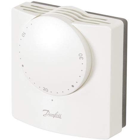 Thermostat d'ambiance électromécanique RMT 230V + résistance anticipatrice - Danfoss 087N1125