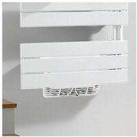 Sèche-serviettes électrique acier TAHITI Blanc 1500W + Soufflant Speed'Air