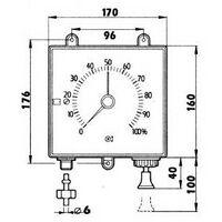 Jauge pneumatique TELEVAR TLM 5 pour réservoir fioul