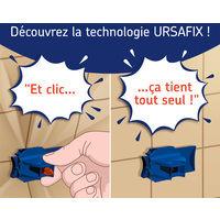 URSAFIX Longueur 120mm - 50 pièces - Appui intermédiaire pour doublage des murs