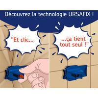 URSAFIX Longueur 120mm - 10 pièces - Appui intermédiaire pour doublage des murs