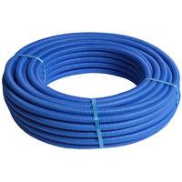 1M Tube multicouche pré-gainé bleu - Ø16x2,0 - Alu 0,2mm - Henco