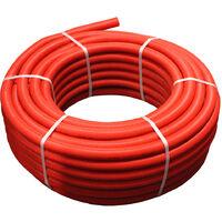 1M Tube multicouche pré-gainé rouge - Ø16x2,0 - Alu 0,2mm - Henco