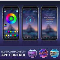 Ruban lumineux LED Intelligent Bluetooth 15M 270 RVB 5050 SMD - Avec télécommande + APP, Synchroniser avec Rythme de Musique/Fonction