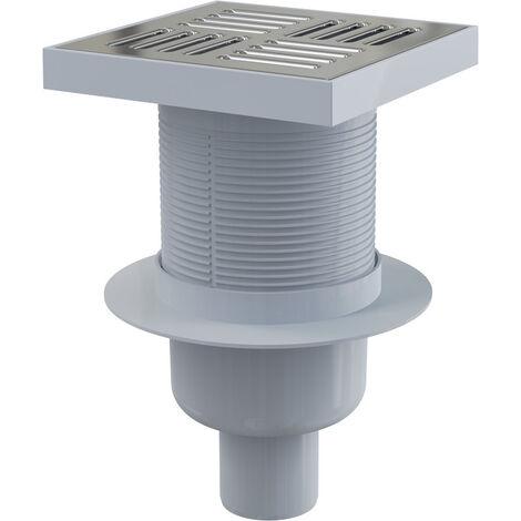 Alca Floor drain vertical outlet 150 x 150/50 MM (APV6411)
