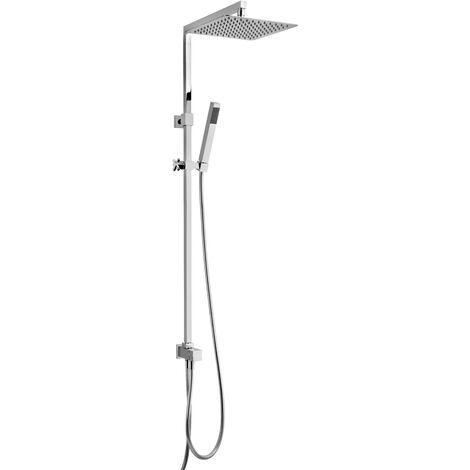 colonne de douche sans mitigeur Jacuzzi Rubinetteria Glint 0IQ00846JA00 | Chromé