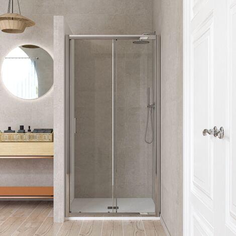 Porte coulissante 140 cm verre transparent Ponsi Gold BBGOLTPS14 | 140 cm (138-142)