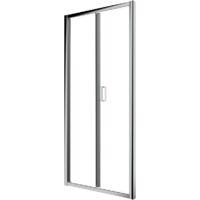 Porte pliante 90 cm verre transparent Ponsi Gold BBGOLTSF90   90 cm (88-92)
