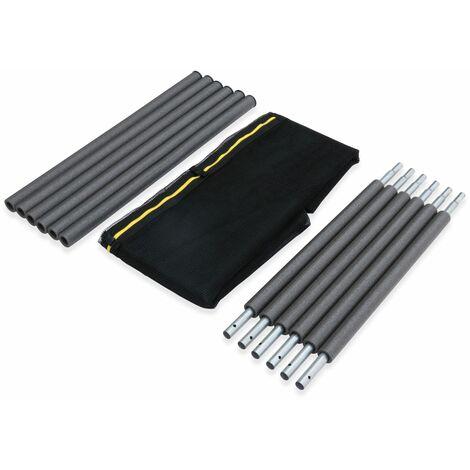 Kit de reemplazo de red de protección de la cama elástica, ANTARES OUTER, para cama elástica Ø250cm Plutón y Plutón XXL