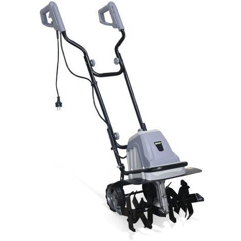 VOLTR - cultivador eléctrico 1400W - Ancho de trabajo de 40 cm, cultivo de la tierra, cultivador de verduras