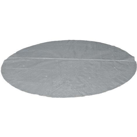 Bâche à bulles renforcée ronde pour piscine tubulaire Intex de Ø 4,57 m - Intex