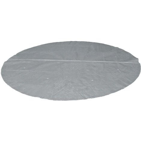 Bâche à bulles renforcée ronde pour piscine tubulaire Intex de Ø 4,88 m - Intex