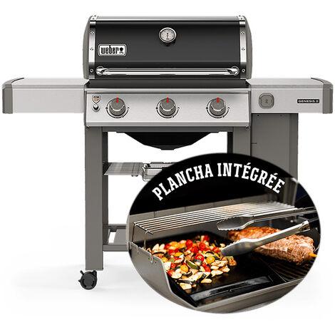 Barbecue gaz Weber Genesis II E-310 Noir + Plancha