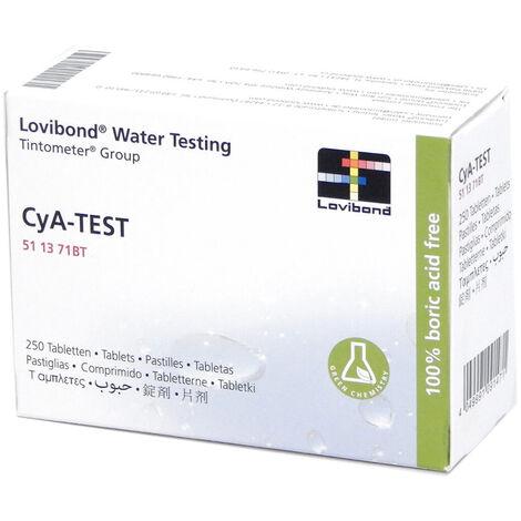 Réactif acide isocyanurique (250 pastilles) testeur électronique Scuba - Lovibond