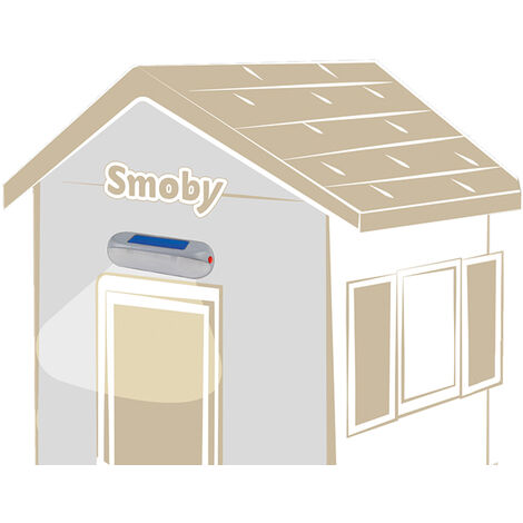 Lampe solaire nomade pour cabane - Smoby