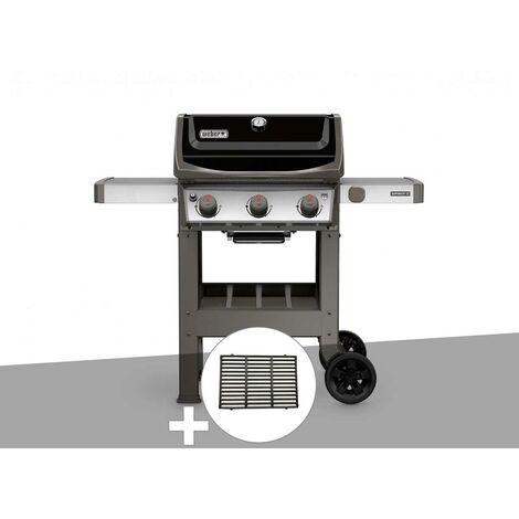 Barbecue gaz Weber Spirit II E-310 + plancha + 1/2 grille de cuisson