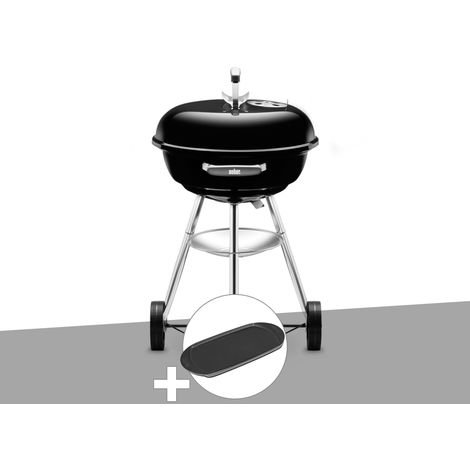 Barbecue Weber Compact Kettle 47 cm + Plancha