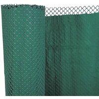 Brise-vue plastique rigide vert 80% occultant 1x 3 m CLOSTA ...
