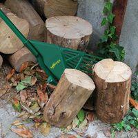 Râteau télescopique ramasse feuilles GARDIREX