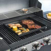 Durandal plat cuisson barbecue | Plaque barbecue 3 Litres | Plaque four pour barbecue | Plaque de cuisson four et barbecue - Noir - Noir