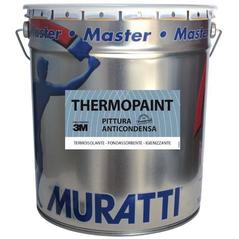 Pittura Murale Anticondensa Termoisolante Thermopaint Lt 13 Bianco