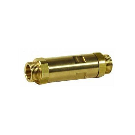 Vanne d'équilibrage Alwa-Confort - Bronze - 63°C - ø3/4 - Fileté