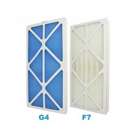 Lot de filtres G4 + F7 compatible 600914 - Pour VMC Idéo ou Initia
