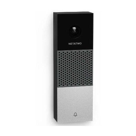 Sonnette Netatmo vidéo Intelligente connectée - WiFi - 140° - 1080p