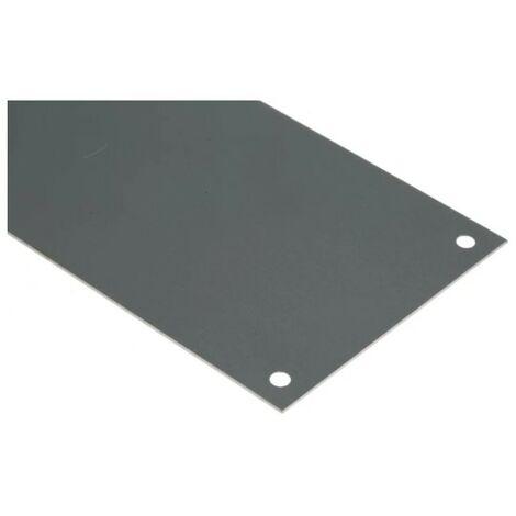 Plaque d'obturation en aluminium RS Pro - Fixation Vis - 300 x 75mm