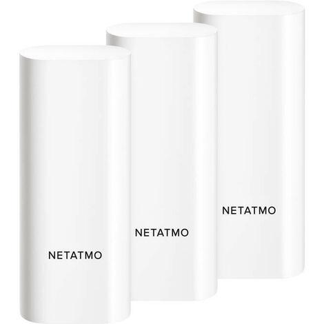 Détecteur d'ouverture intelligent et connecté Netatmo - Portes et Fenêtres