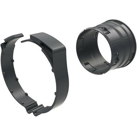 Raccord avec collier - Ø125mm - Easy Clip