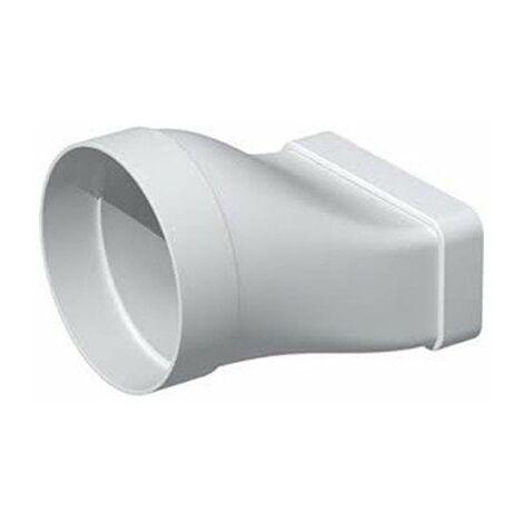 Manchon mixte rectangulaire MCM pour conduit PVC rigide - Extra-plat 55 x 220 mm