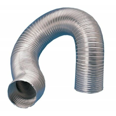 Gaine semi-rigide aluminium GA100 - 3m - Diamètre 100mm