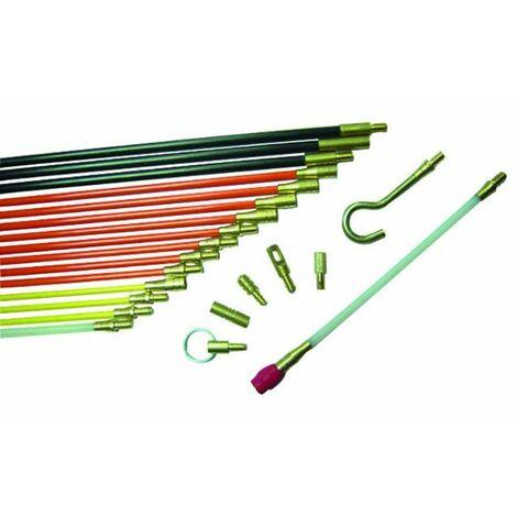 Kit de 4 baguettes tire-fils - 4X1m - D5mm